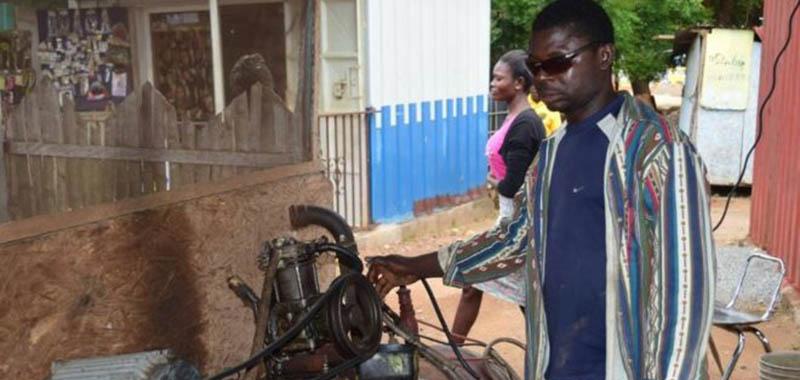 התקווה של אפריקה - כיסוי ביטוחי באמצעות הטלפון