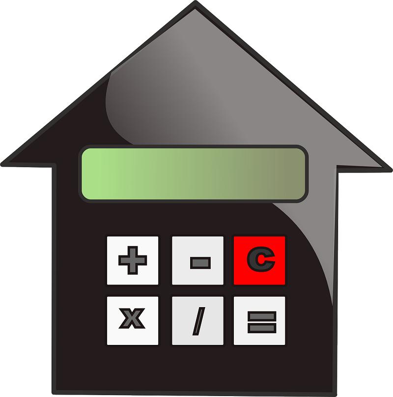 איור בית ומחשבון – ייעוץ משכנתאות